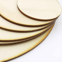 round wood unfinished wooden circle disk discs