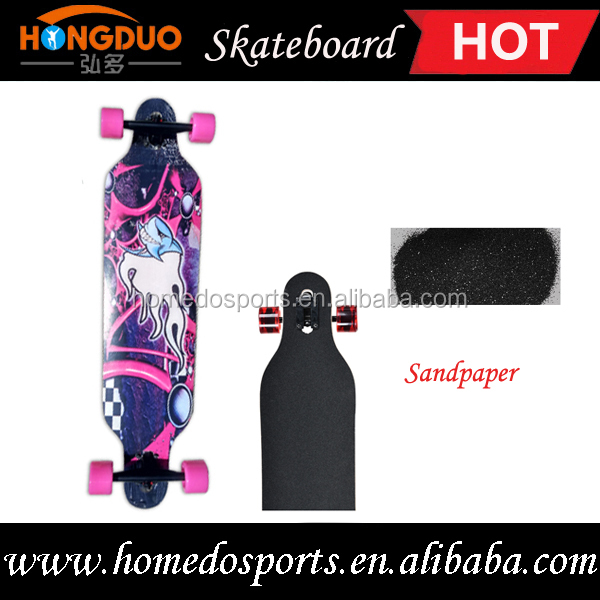 Custom skateboard 100 % Import Canadian Maple wood Deck Cheap Skateboards Complete