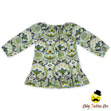 Newborn Baby Toddler Clothing Wholesale Vintage Floral Long Sleeve 2 Year Old Girl Dress