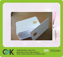 Competitive full color Sle5542 contat ic card printing with good quality