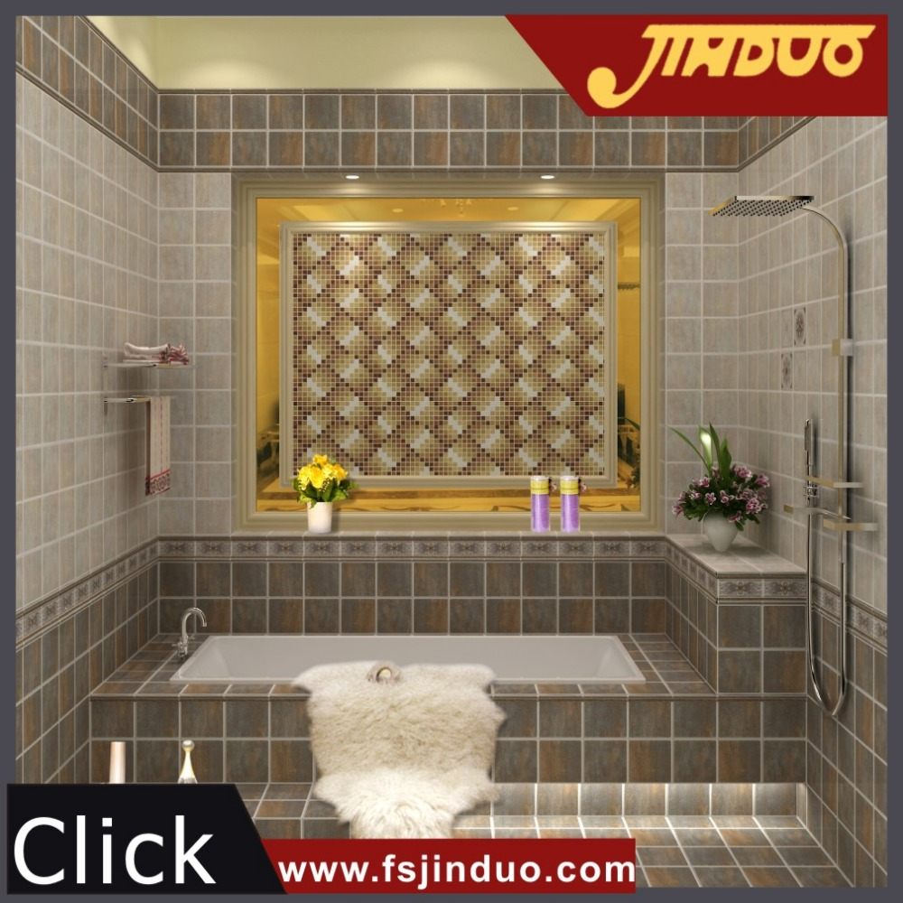 Rustic design cheap ceramic <strong>wall</strong> and floor bathroom tile