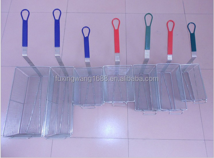 Wire Metal French Fries Basket for Deep Fat Fryer