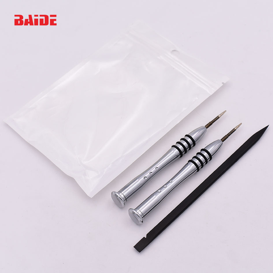 T5 Torx Screwdriver 1.2 Pentalobe 5 Point Star 15mm Black Pry 3 pieces Set Opening Tools for Air Laptop