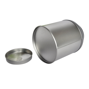 custom accept round tin box cylinder boxes tea packaging