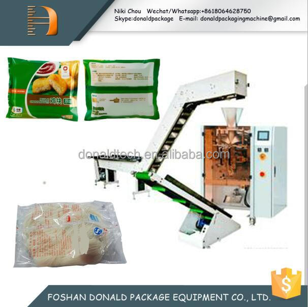 Bucket chain saffron with plastic opp bag semi automatic packaging machine