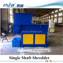 plastic used tire shredder recycling machine/plastic grinder machinery for sale