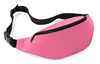 Cellphone portable outdoor sporting waist buggy bags in Pink