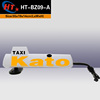 Hot sale beautiful car accessories advertising light boxes taxi