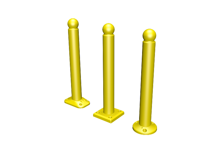 Most demanded products china wholesale round bollard buy direct from china factory