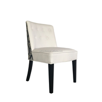 Top Sale Upholstered White Dining Chair