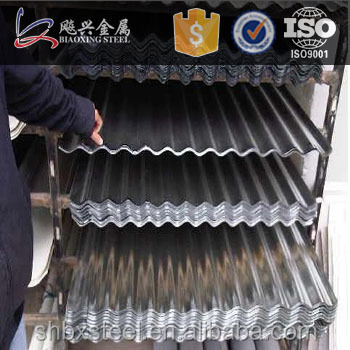 Buildings Materials Galvanized Iron Sheet Metal Roofing Sale