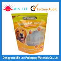 pet dog food bags with resealable zipper