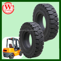 No costly repair durable high loading forklift rim and tires 28x12.5-15, off road solid wheels on sale