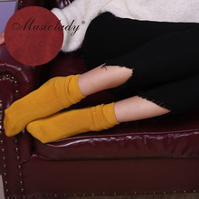 Fashion socks knitting female models solid color manufacturers top sale colorful hosiery Zhejiang