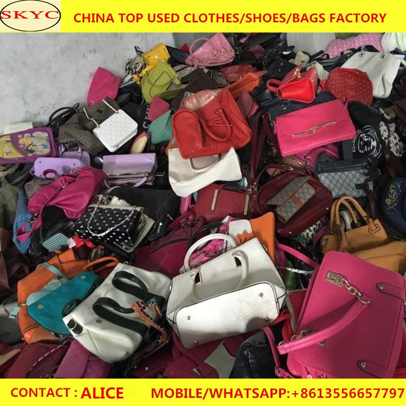 Wholesale used handbags ladies office design fashion used jumbo bags for sale