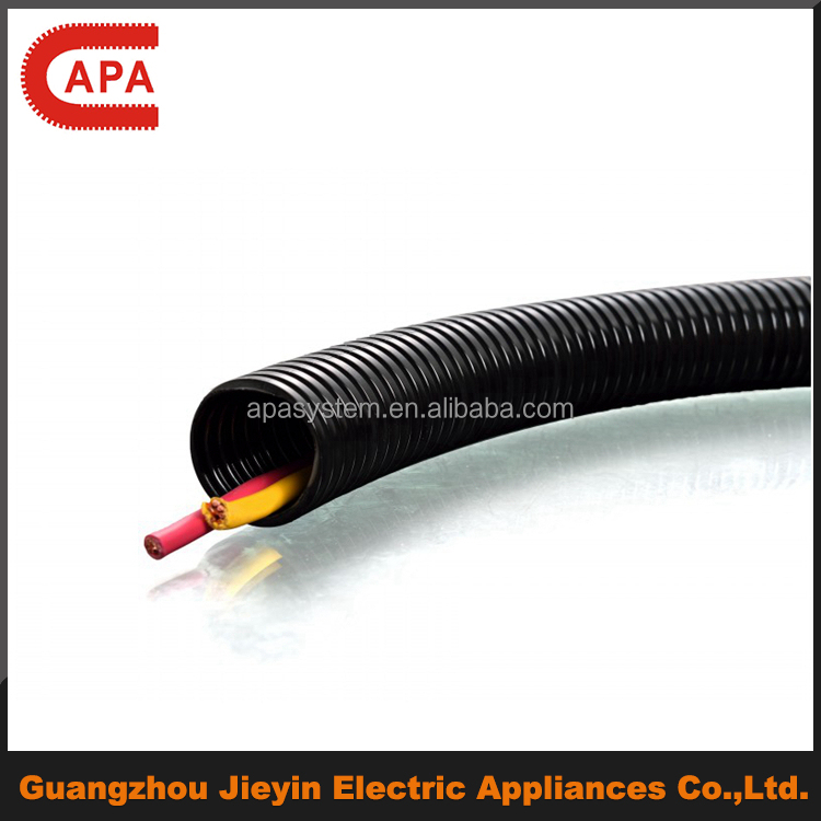Free Sample Plastic PA/LDPE/PP Tube/Conduit/Pipes for electrical wire