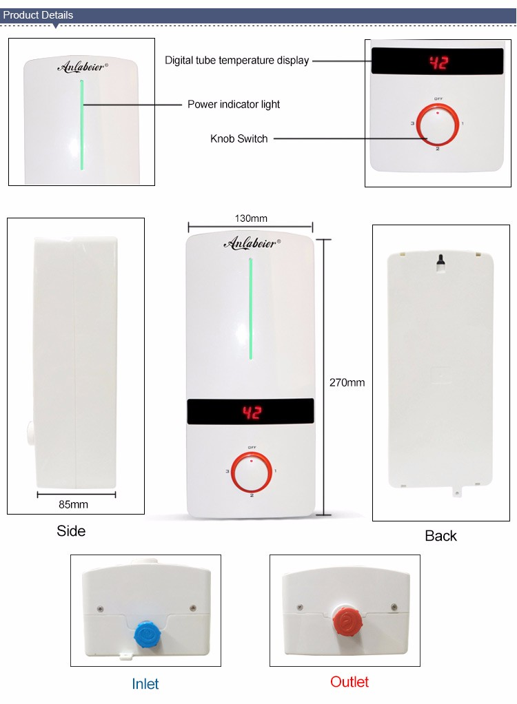 handy kitchen hot water heaters electric water heater 3 phase