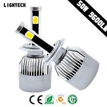 led headlight for snowmobile Auto Part GT1 12V 40W LED Car led Light Bulbs H7 5202 H11 9005 9006 H13 9004 9007 H4 LED Headlight