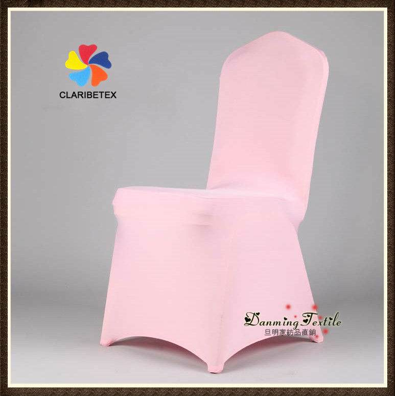 Wholesale Lycra /Spandex Wedding Chair Cover in Pale Pink