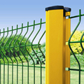 Anti climb PVC coated steel wire mesh barriers/fences (50*150mm hole size)