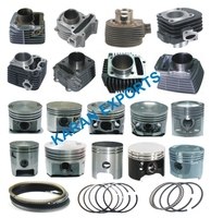 piston cylinder kit bajaj pulsar 150 cc 57mm