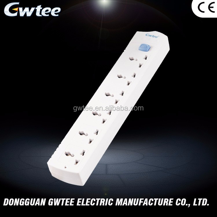 Hot sale and durable 220-250V 10A 2500W hot selling rewirable cord extension socket