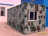 mobile portable container house/ high quality comfortable accommodation container/prefab modular