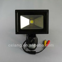 cheap !! outdoor security light with PIR sensor camera