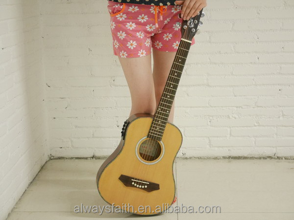 Best selling Huizhou high qualtiy guitar factory , guitar wholesale and kapok guitar G-Q34A
