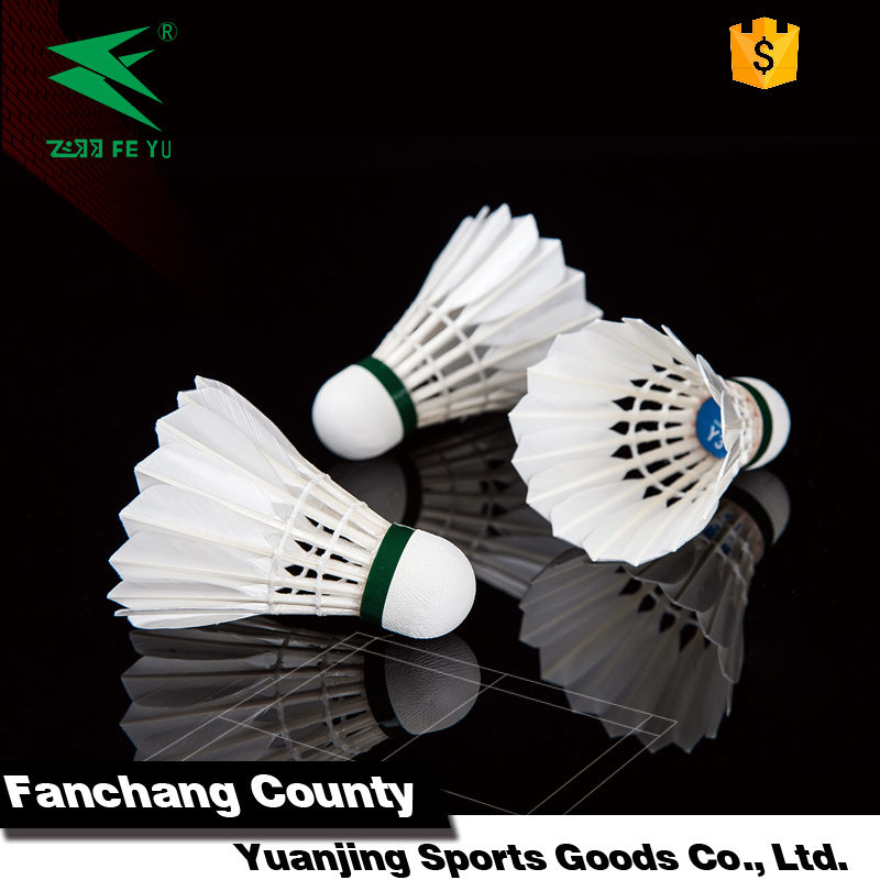 Raw material best duck feather 77 Speed badminton ball