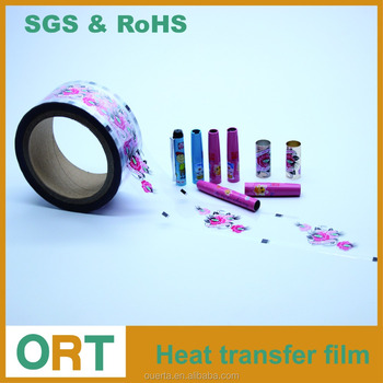 Fountain Pen Cap Printing Heat Stamping Film