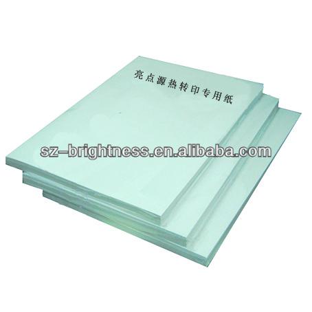 Heat press Paper for sale in shenzhen brightness