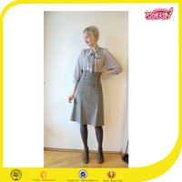 adult school uniform design long skirt models,pictures of long skirts and tops