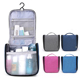 Hot sales fashion travel toiletry bags folding makeup organizer hanging women cosmetic bag