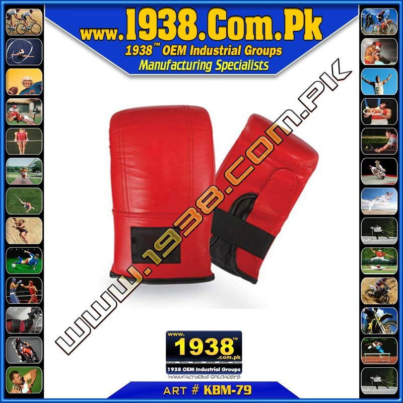 Bag Gloves made of artificial leather / genuine leather