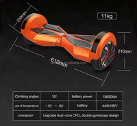 Newest 2 Wheel Electric Scooter/ Cheap Electric Scooter/ Two Wheels Self Balancing Scooter in 8 Inch