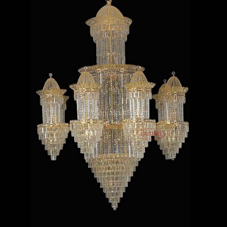 Traditional Bid Size Moroccan Chandelier Teardrops Banquet Hall Decorations 62027