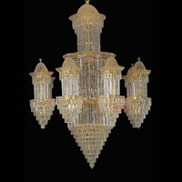 Traditional Moroccan Chandelier Teardrops Banquet Hall Decorations 62027