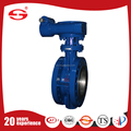 Coal power plant smoke duct butterfly valve with Full PTFE lining