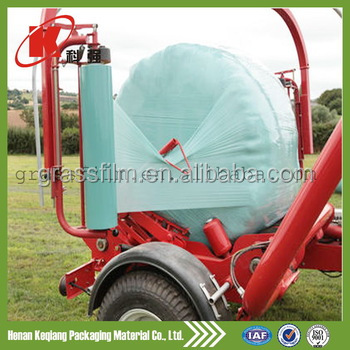 Packaging Film Usage and Soft Hardness LLDPE Opaque Polyethylene Corn silage moisture proof stretch film