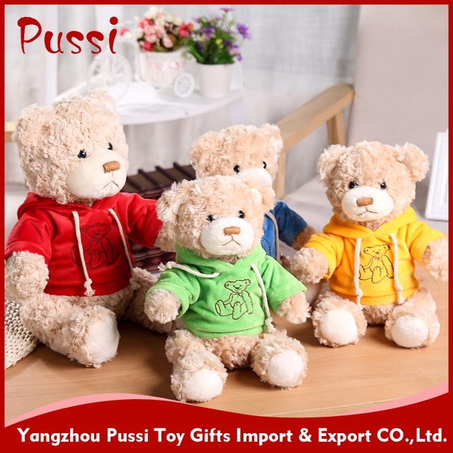 Animal cheap teddy bear stuffed toys with big eyes for crane machines