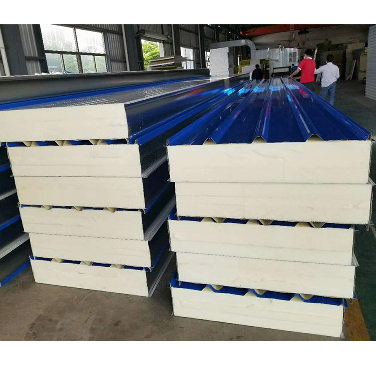 thermal insulation polyurethane sandwich roof panel