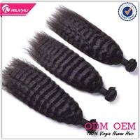 Wholesale best selling unprocessed kinky straight micro ring extensions