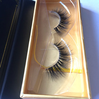 factory price OEM customed packaging 3d mink false lashes own brand real mink eyelashes