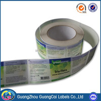 guangzhou health care and food sticker labels