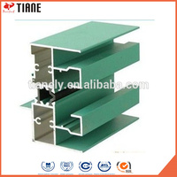 High quality custom colorful window and door/sliding casement aluminum extrusion profile Fashion Style