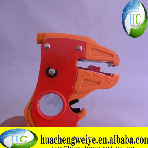 Quick adjustment clamp 055 square double with stripping pliers