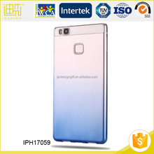 Portable raw transparent cell phone case for huawei honor