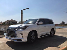 modellista style body kits for lexus LX570 2016~on. front and rear bumper lips for lexus 570 NEW MODEL