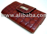 Woman Hand made Leather Wallet